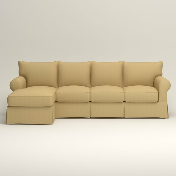 Jameson Slipcovered Sofa with Chaise by Birch Lane Heritage Birch Lane™ Heritage