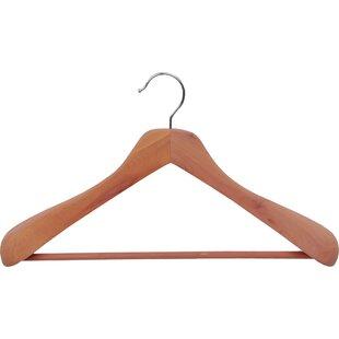 Great choice Cedar Suit Hanger (Set of 6) By Rebrilliant