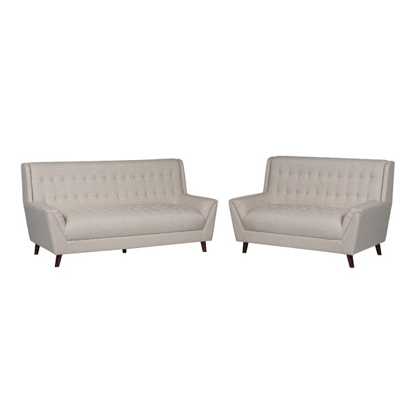 Susan 2 Piece Living Room Set by Wrought Studio