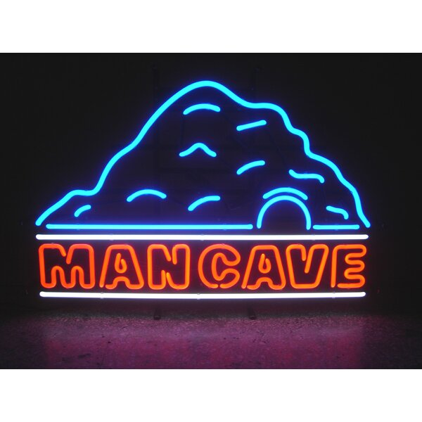 Man Cave Neon Signs Australia : Neonetics man cave with neon sign reviews wayfair
