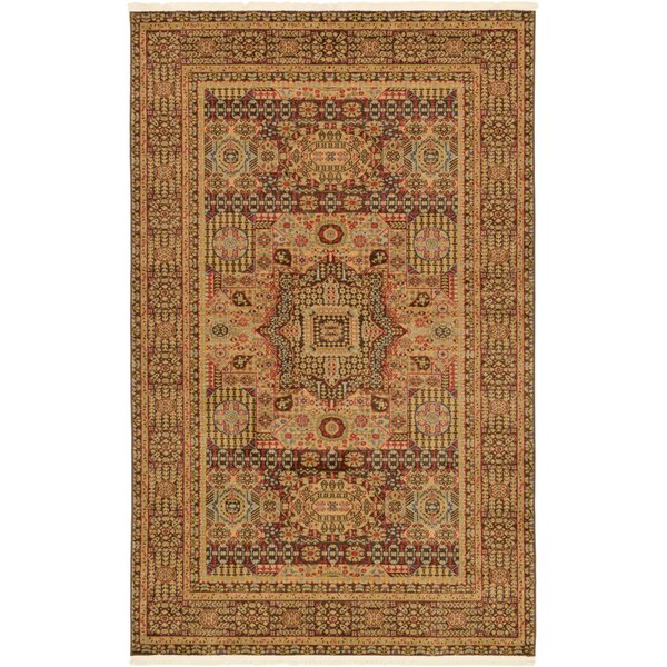 Laurelwood Brown Area Rug by Astoria Grand