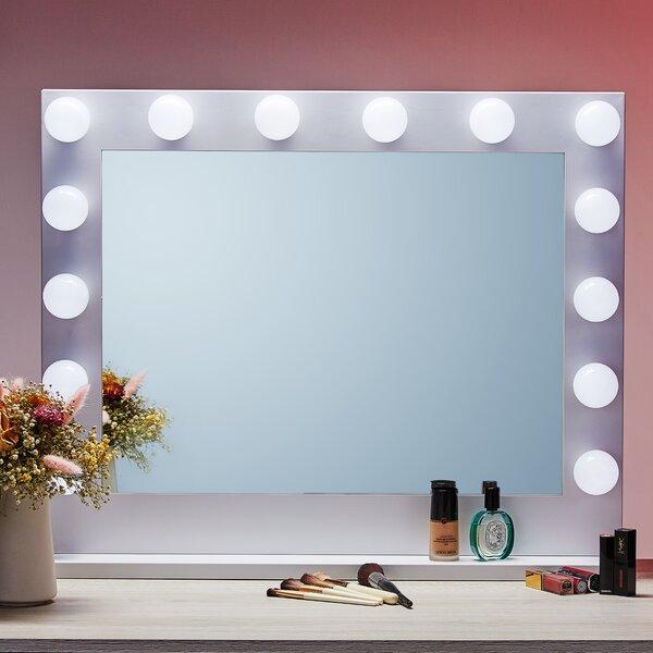 Araujo-Espichan Modern Lighted Bathroom Mirror