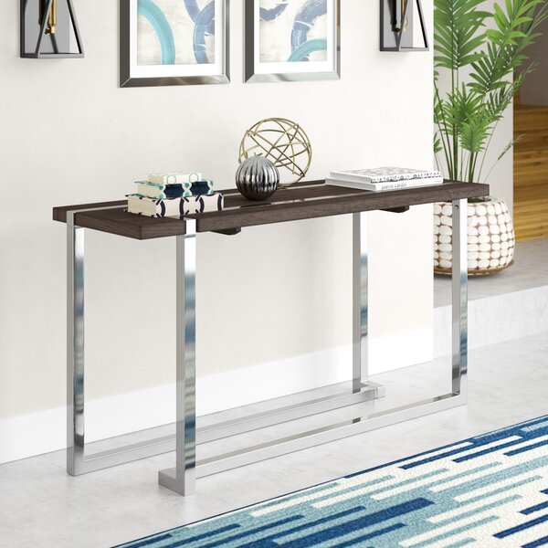 Aubuchon Rectangle Console Table by Wade Logan Wade Logan