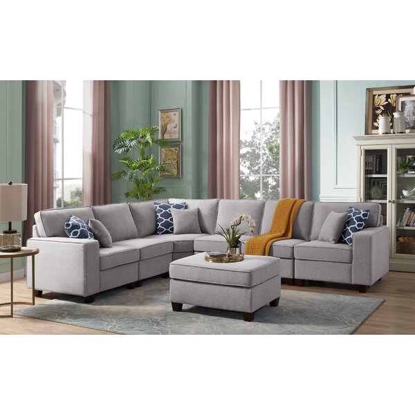 Mendenhall Modular Sectional with Ottoman by Latitude Run