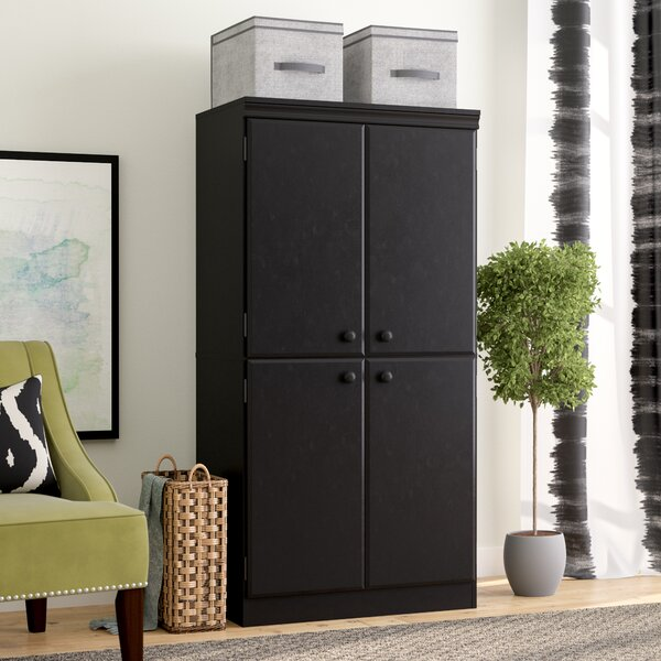 Caines 4-Door Storage Cabinet by Andover Mills