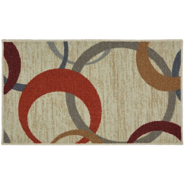 Pill Beige Area Rug by Latitude Run