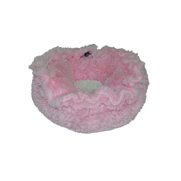 Lily Pod Cotton Candy Bolster by Bessie and Barnie