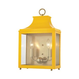 Compare prices Castellon 2-Light Candle Wall Light By Longshore Tides