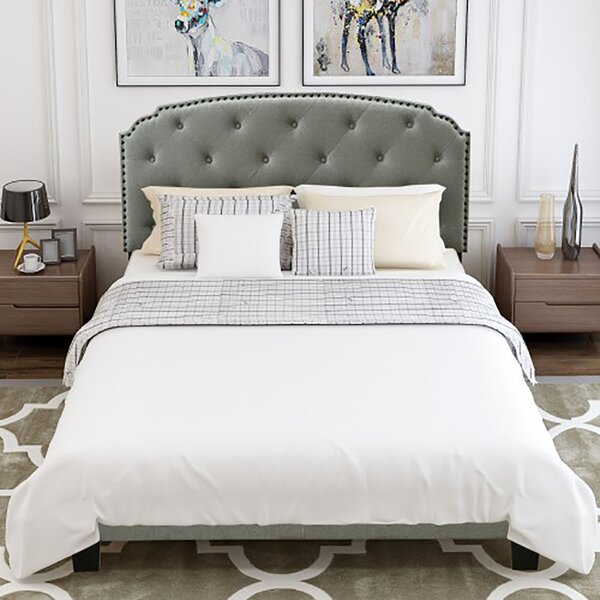 Lavanya Queen Upholstered Standard Bed by Charlton Home