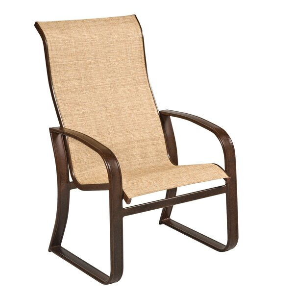 Cayman Isle Sling High-Back Patio Dining Chair by Woodard Woodard