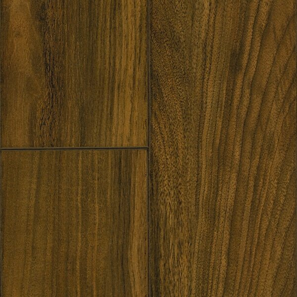Revolutions 5'' x 51'' x 8mm Walnut Laminate Flooring in Vintage by Mannington