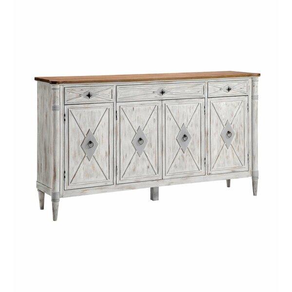 Ayana 4-door 3-drawer Credenza by Gracie Oaks Gracie Oaks