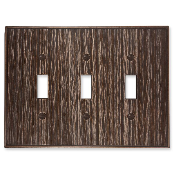 Twill Light Switch Plate by Questech