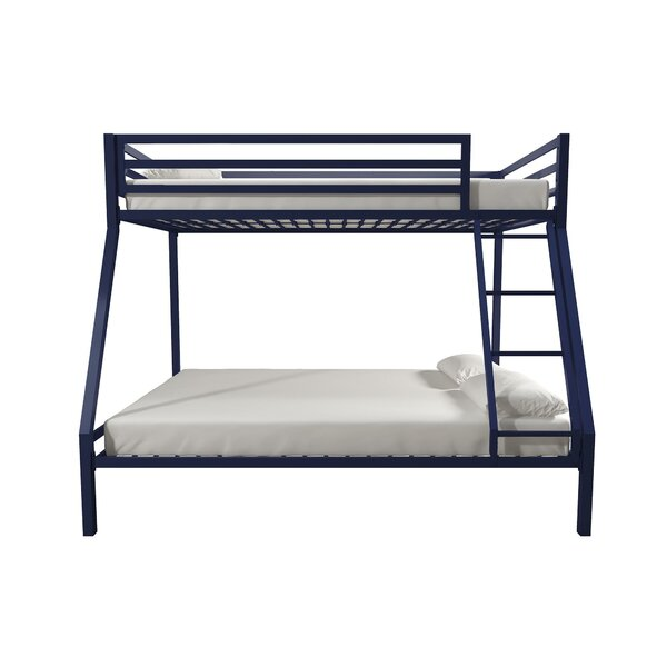 Makenzie Twin over Full Bunk Bed by Harriet Bee
