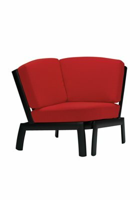 South Beach Corner Module Chair with Cushion by Tropitone