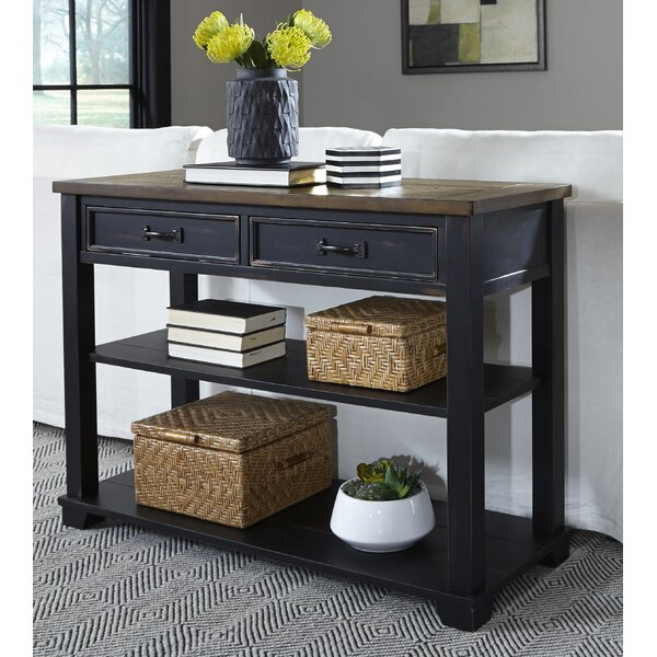Laurel Foundry Modern Farmhouse Black Console Tables