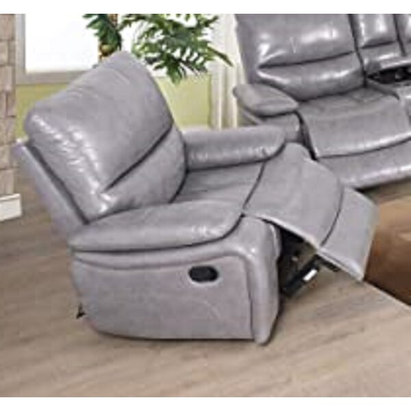 Tomeny Faux Leather Manual Lift Assist Recliner (Set of 2) W002373819