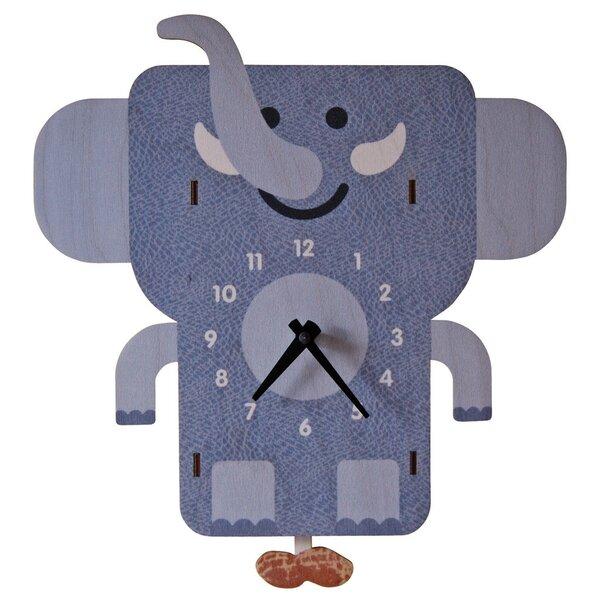 Elephant Pendulum Wall Clock by Modern Moose