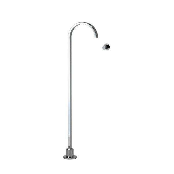 Arch Single Handle Floor Mounted Freestanding Tub Filler Trim by LACAVA LACAVA