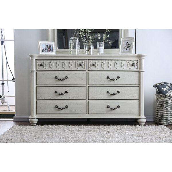 Aubrie 8 Drawer Double Dresser by Rosdorf Park