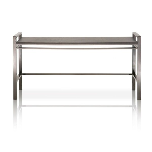 Aria Metal Base Console Table By Foundry Select