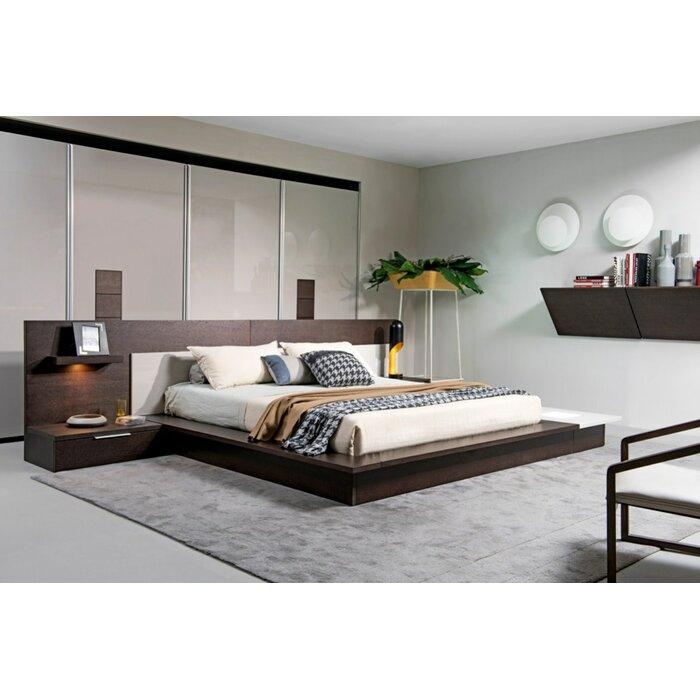 Sen California King Platform Bed