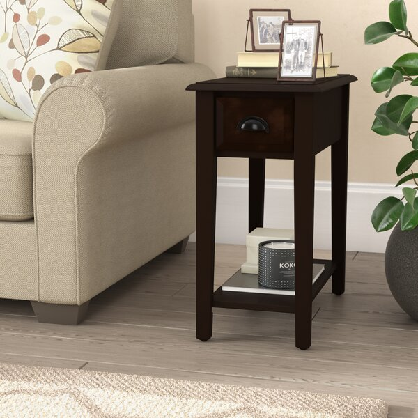Review Dale End Table With Storage