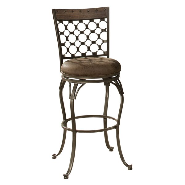 Donohoe 30 Swivel Bar Stool by Andover Mills