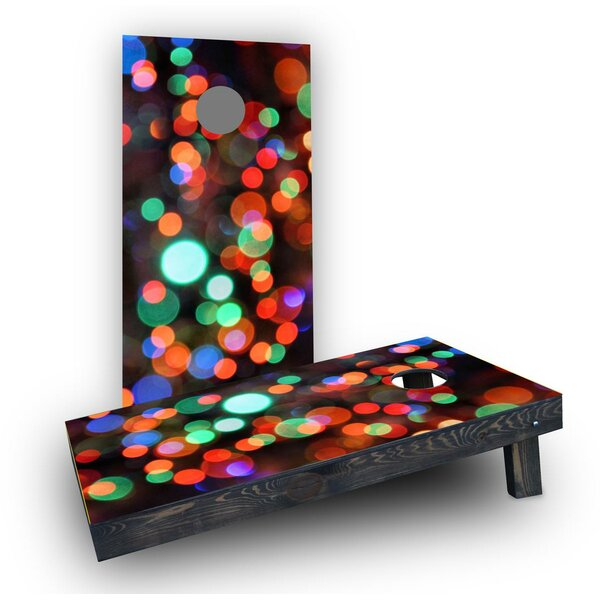 Lights Cornhole Boards (Set of 2) by Custom Cornhole Boards