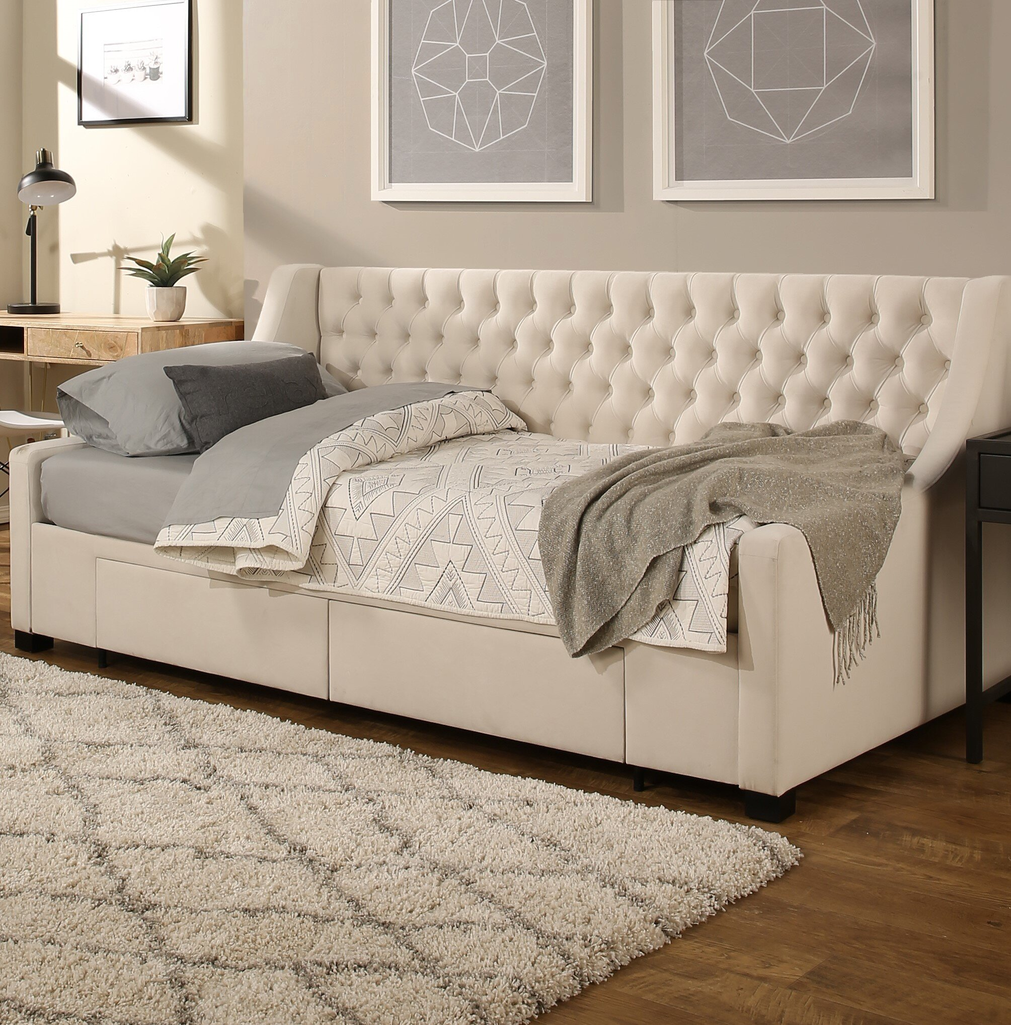 Storage Twin Daybeds You Ll Love In 2021 Wayfair