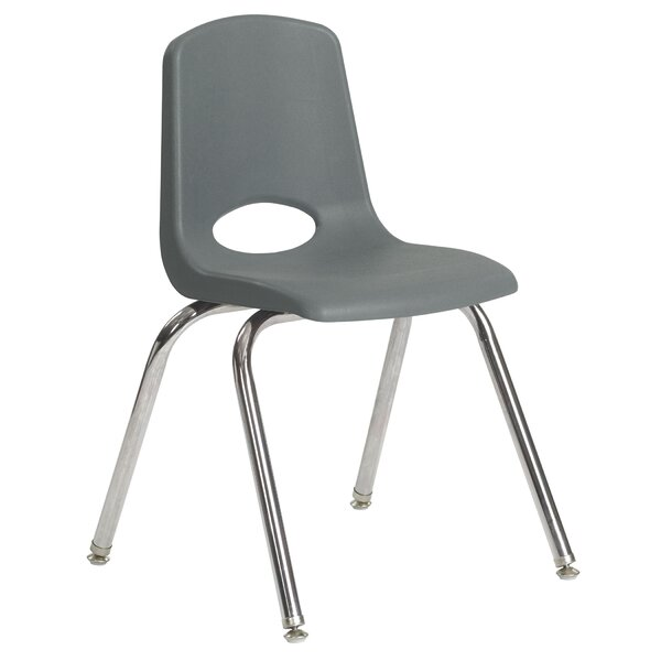 ECR4Kids® 18'' Plastic Classroom Chair (Set of 5) by ECR4kids