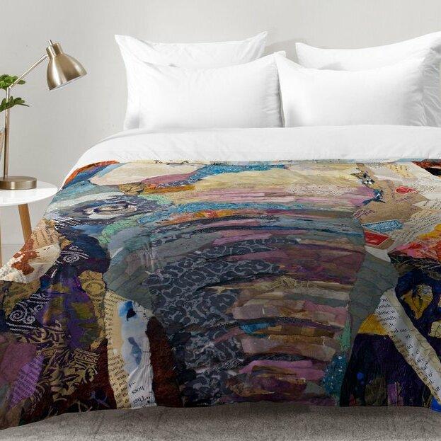 World Menagerie Mullen Elephant Comforter Set Reviews Wayfair