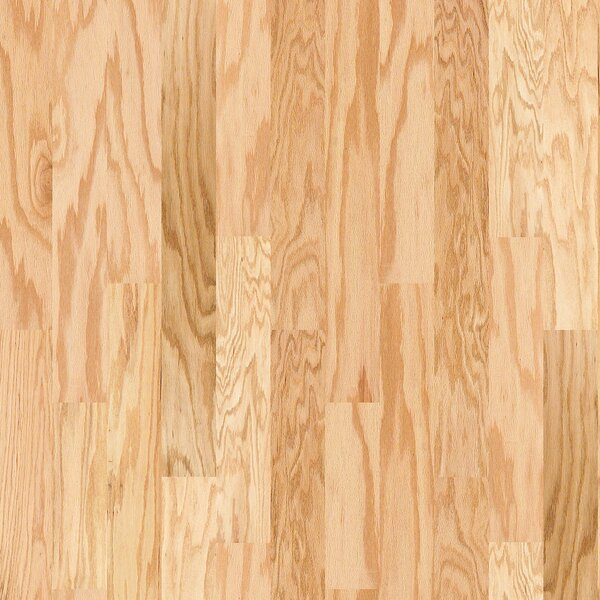 Prestige Oak 4.8 Engineered Oak Hardwood Flooring in Natural by Shaw Floors