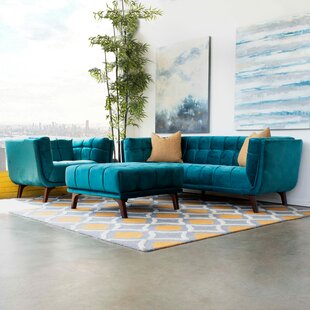 Regina 3 Piece Configurable Living Room Set by Wade Logan®