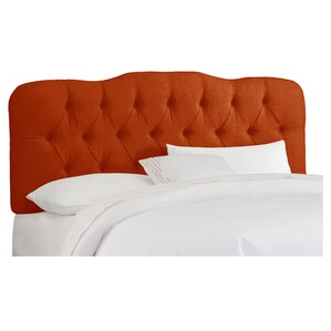 Carnaby Tufted Polyester Upholstered Headboard by Skyline Furniture