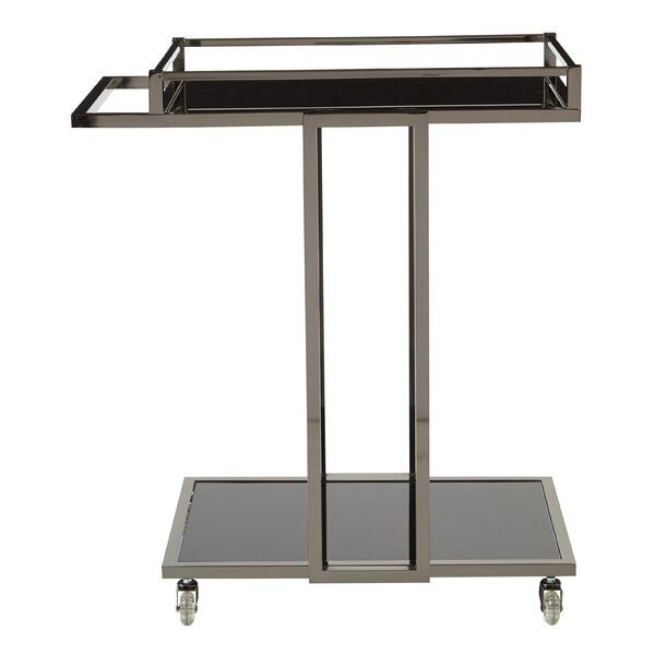 Alvarado Serving Bar Cart By Orren Ellis Best #1