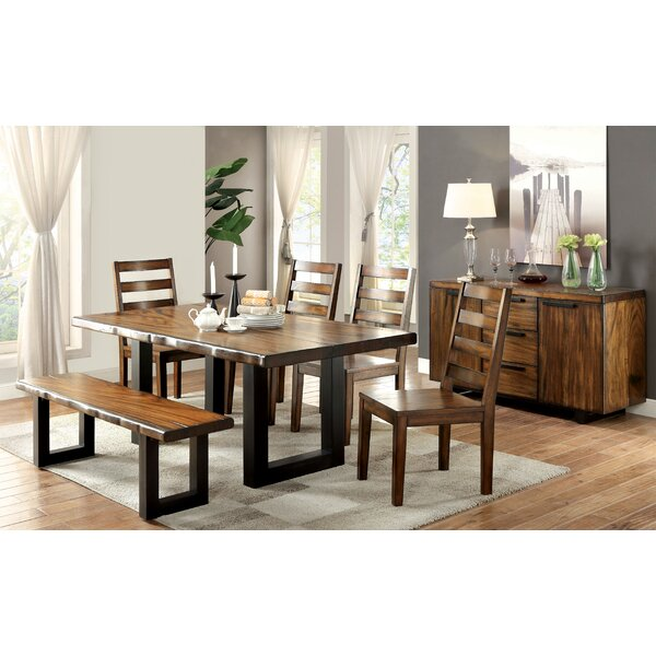 Timberlane 6 Piece Dining Set by Loon Peak