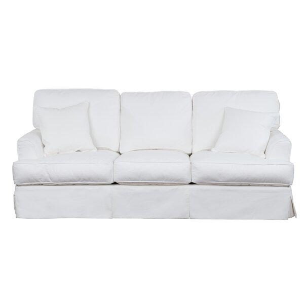 Get New Elenora Slipcovered Sofa by Highland Dunes by Highland Dunes