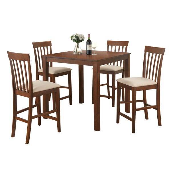 Bawden 5 Piece Counter Height Dining Set by Darby Home Co