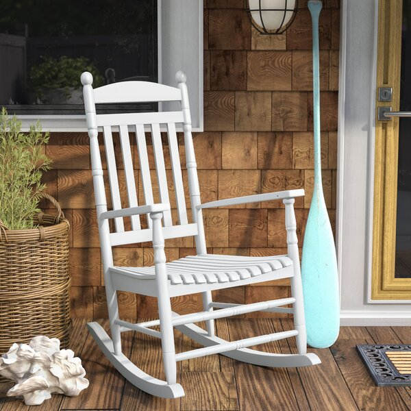 Landaff Island Porch Rocker Chair by Beachcrest Home