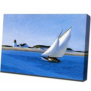 Long Leg by Edward Hopper Painting Print on Wrapped Canvas by Buy Art For Less