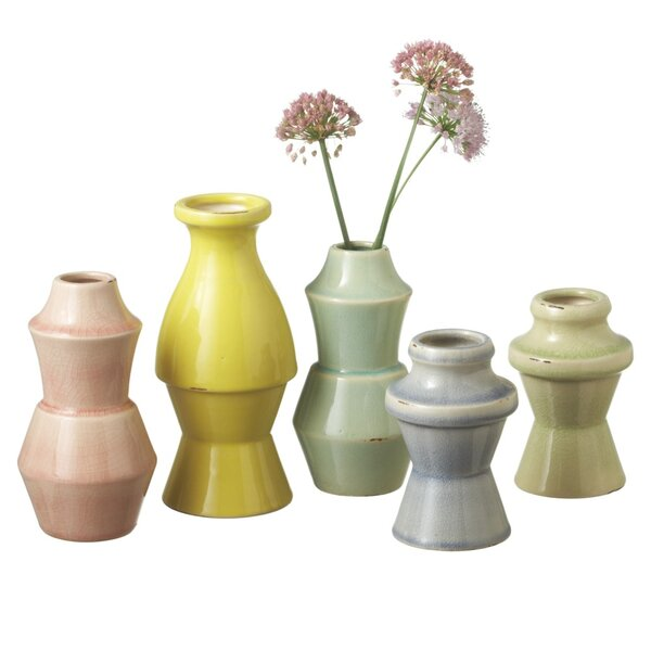Jordyn Nesting Table Vase (Set of 5) by Langley Street