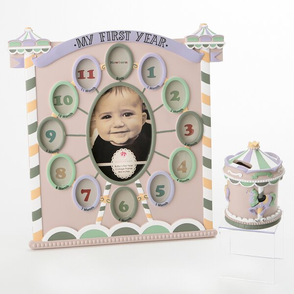 Elida 2 Piece Circus Tent Picture Frame Set by Harriet Bee