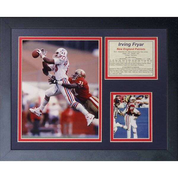 Irving Fryar Framed Memorabilia by Legends Never Die