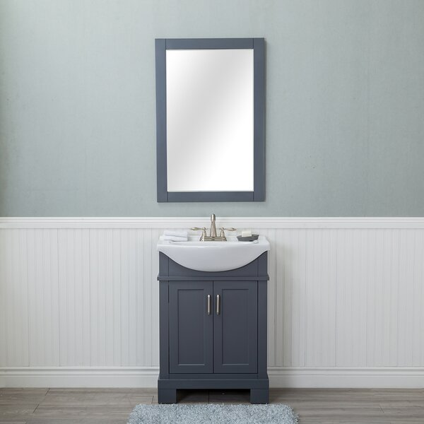 Amansara 24 Single Bathroom Vanity Set with Mirror by Winston Porter
