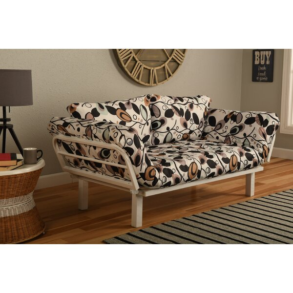 Everett Convertible Lounger in Tanglewood Futon and Mattress by Ebern Designs