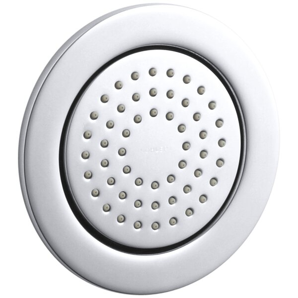 WaterTile Round Body Spray with Masterclean Spray Nozzle by Kohler