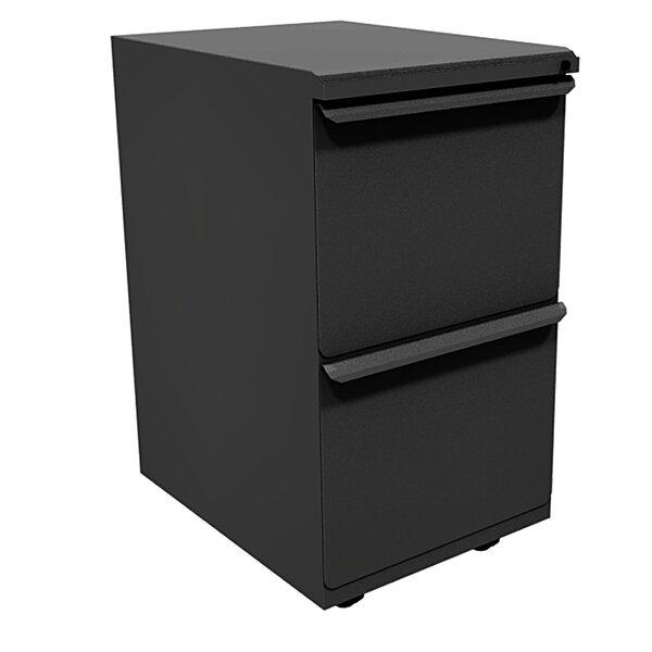 Zapf 2-Drawer Mobile Pedestal File Cabinet by Marvel Office Furniture