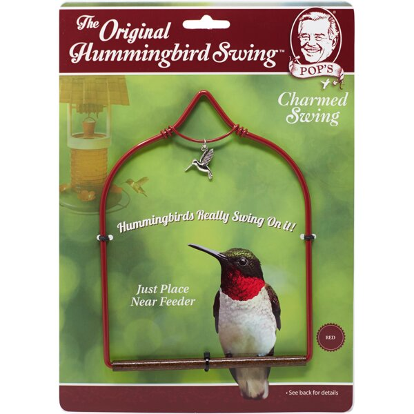Hummingbird Swing by Pop's Hummingbird Swings