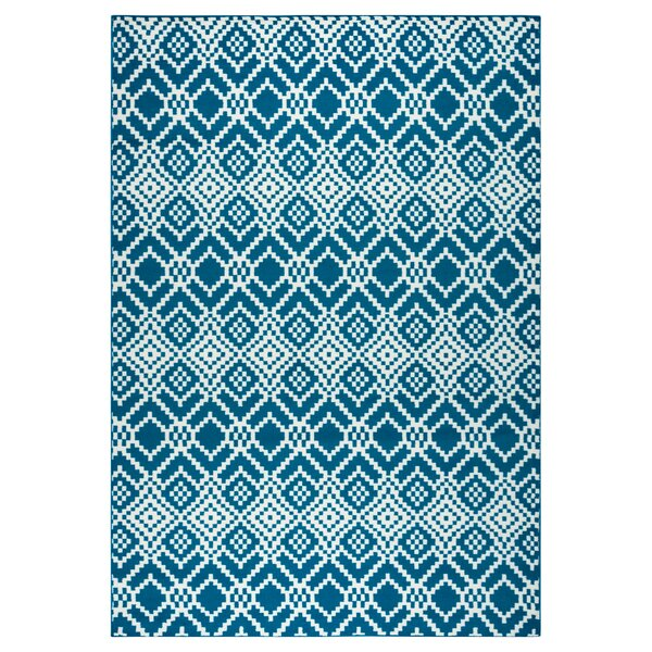 McCone Navy Indoor/Outdoor Area Rug by Loon Peak
